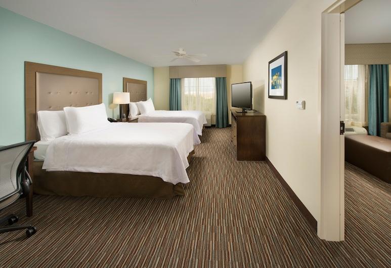 Homewood Suites by Hilton San Antonio Airport, San Antonio, Suite, 2 Queen Beds, Accessible, Non Smoking, Guest Room