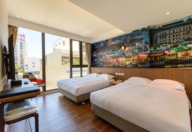 Jack house hotel, Hualien City, Classic Quadruple Room, Guest Room