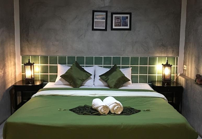 โรงแรมปุณยนุช, หัวหิน, ห้องสแตนดาร์ดดับเบิล, เตียงคิงไซส์ 1 เตียง, ห้องพัก