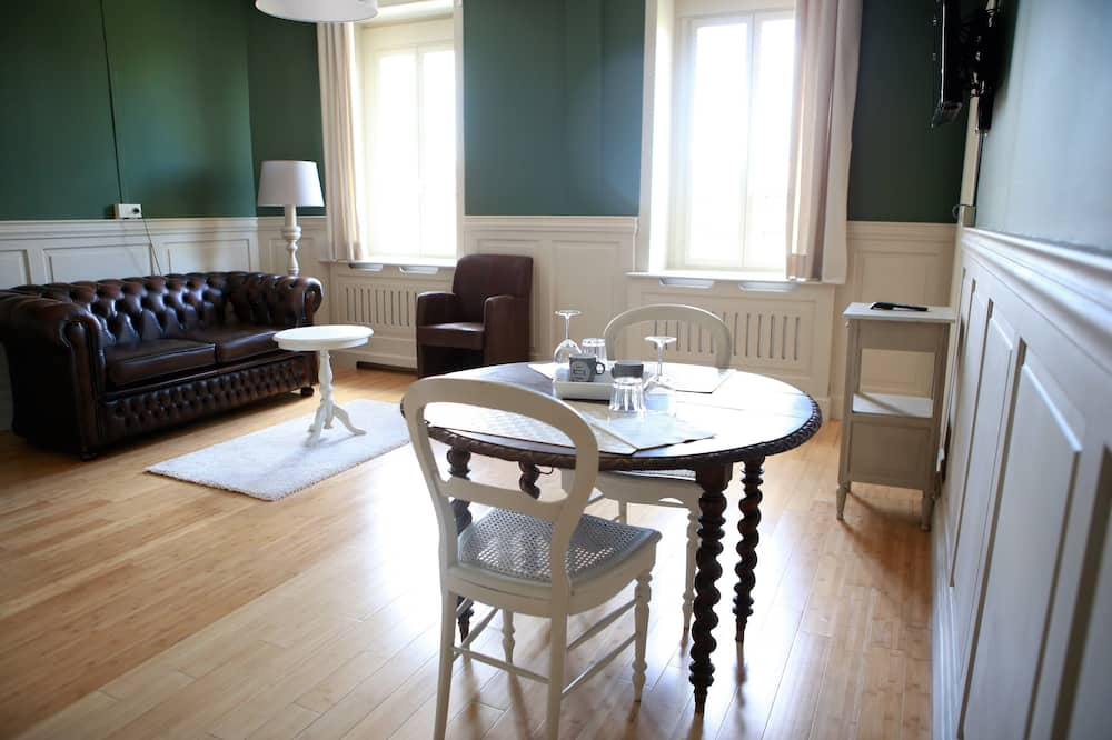Suite – luxury, 1 soverom, ikke-røyk, kjøkken - Stue