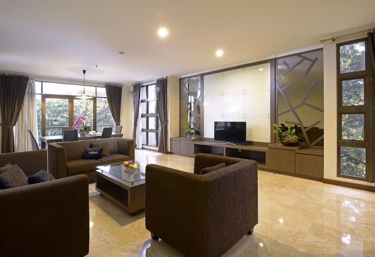Midtown Residence Simatupang - Jakarta, Jakarta, Marvelous Family Room, Living Room