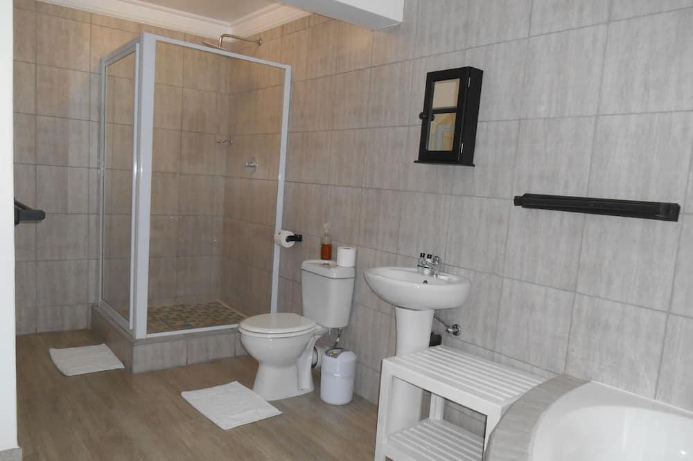 חדר דה-לוקס זוגי, חדר שינה אחד - חדר רחצה