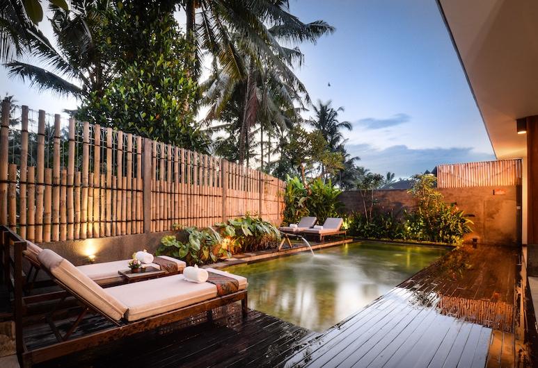 Purana Boutique Resort, Ubud, Alberca al aire libre