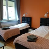 Habitación triple, 3 camas individuales, cocina básica - Sala de estar