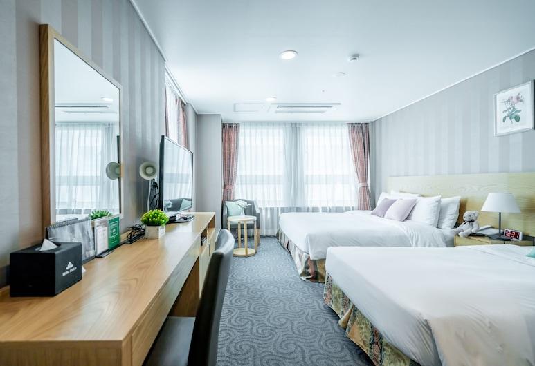 中庭酒店, 首爾, 家庭雙床房, 客房