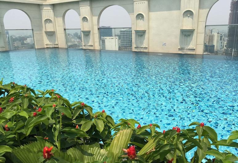 Sunny Saigon Apartments & Hotel, Ho Chi Minh City, Basen na dachu