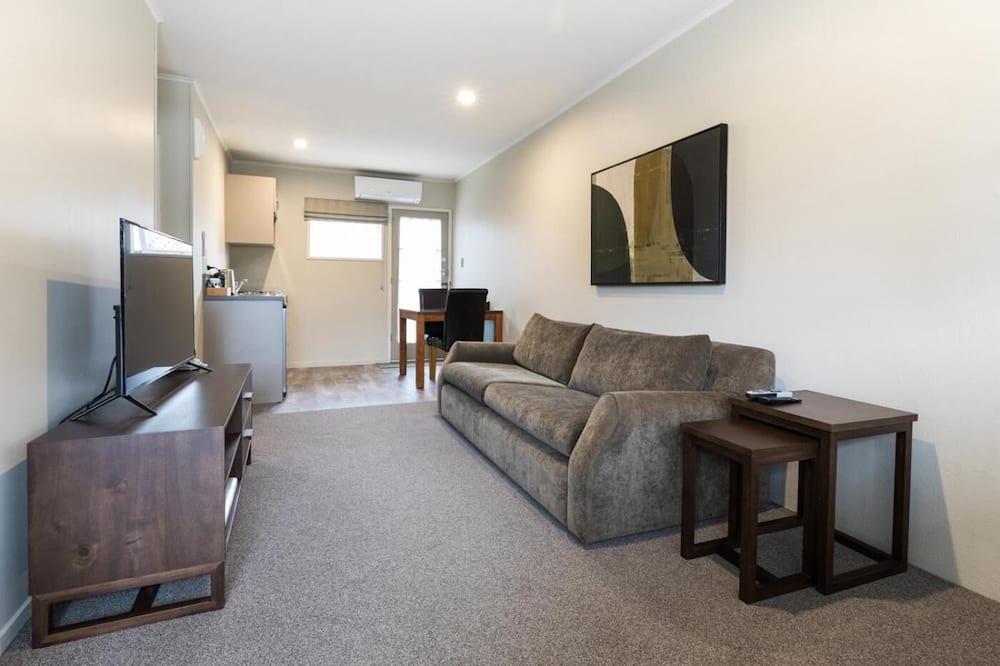 Căn hộ, 1 phòng ngủ, Bồn tắm thủy lực - Phòng khách