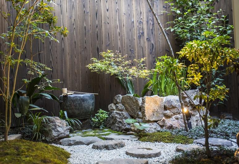 교 마치야 하치조, Kyoto, 정원