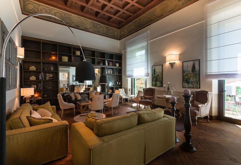 Palazzo Lorenzo Hotel Boutique, Florens, Sittområde i lobbyn
