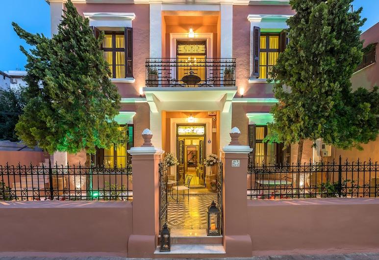 Sperveri Boutique Hotel, Rodos, Hotellin julkisivu