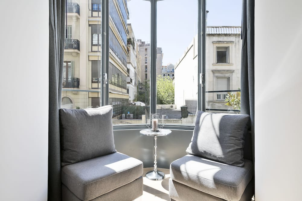 Deluxe Suite Apartment, 2 bedrooms and 2 bathrooms - Salle de séjour