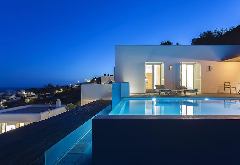 Far Out Hotel & Spa, Ios, Terrace/Patio