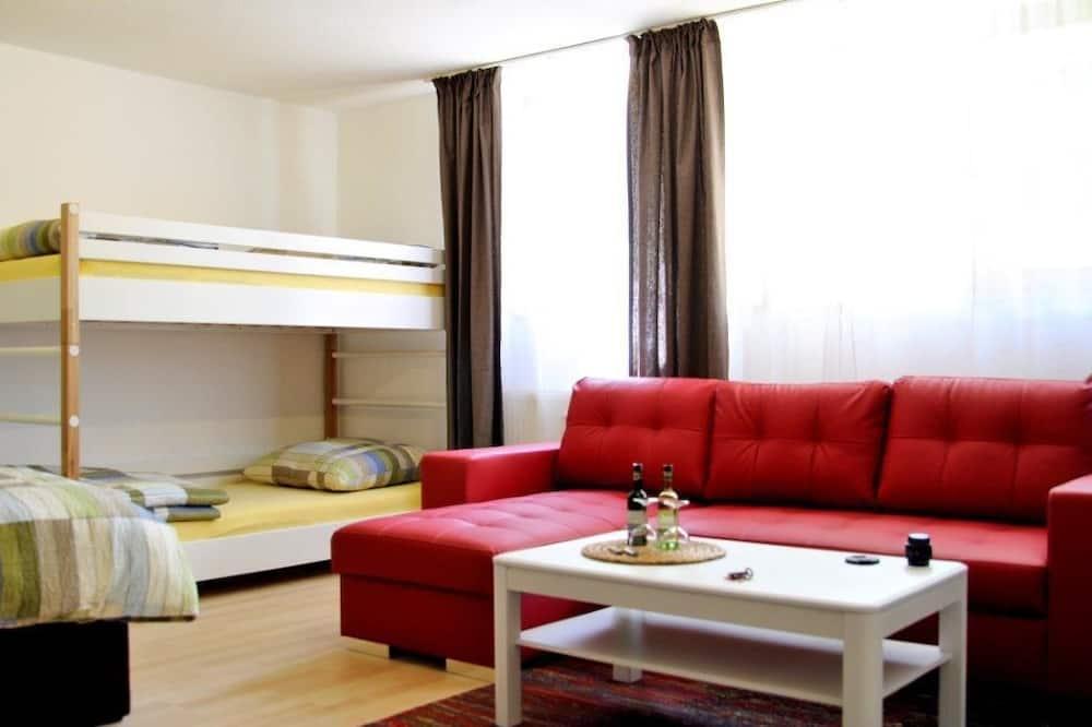 Studio (Semi Basement) - Living Area
