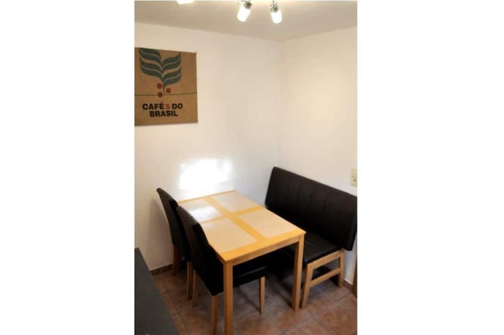 Studio (Semi Basement) - In-Room Dining