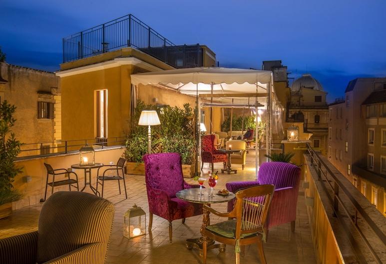Hotel Monte Cenci, Roma, Terasa / vidinis kiemas