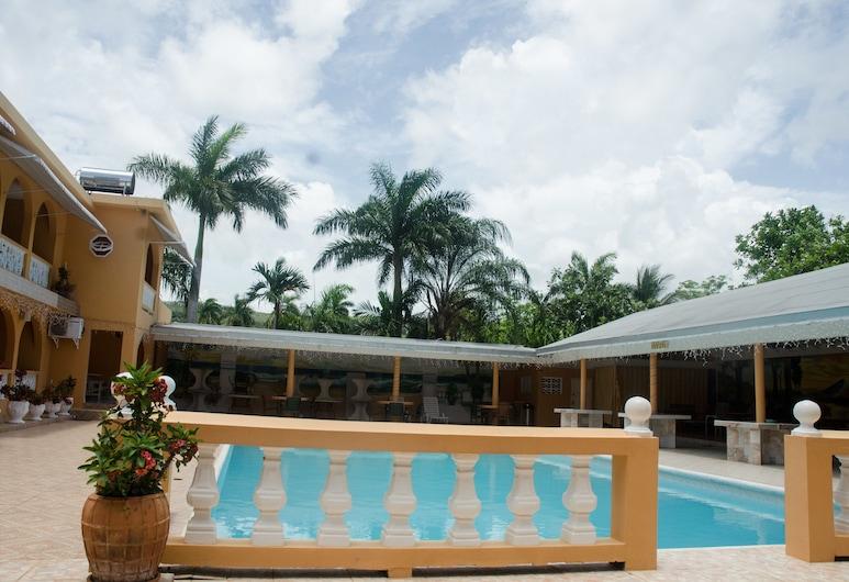Villa Royale, Montego Bay, Camera, 1 letto queen, lato piscina, Piscina all'aperto