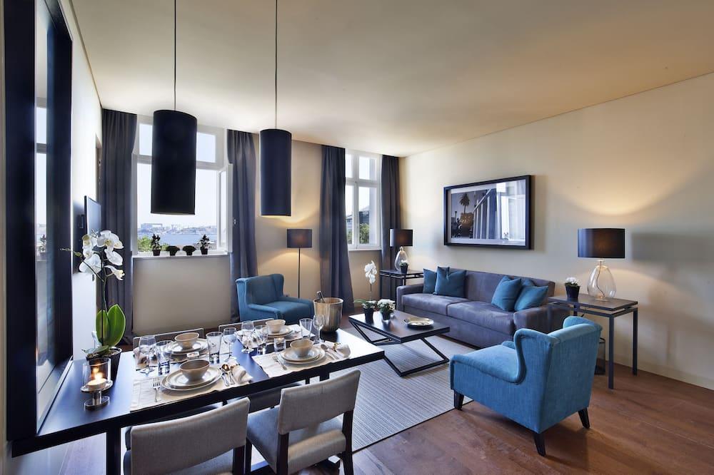 Superior Apartment, 2 Bedrooms - Ruang Tamu
