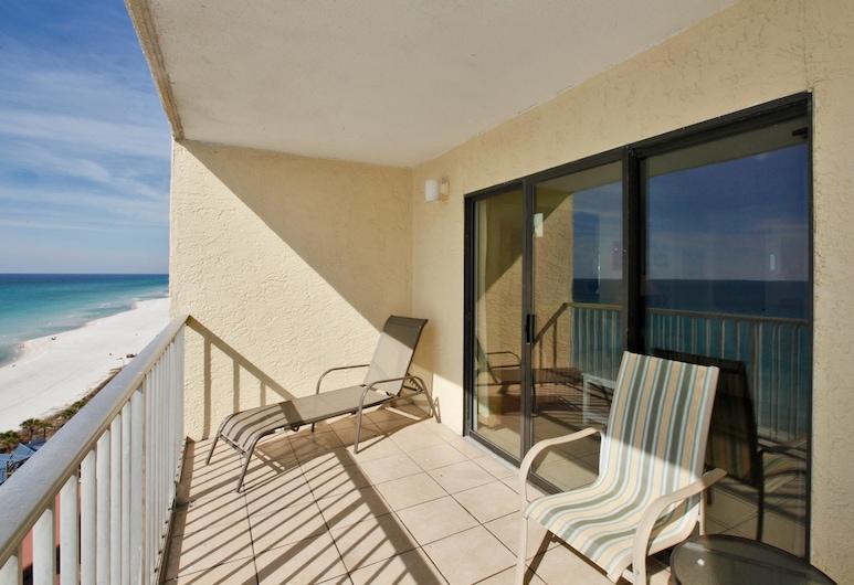 Summit Beach Resort by Panhandle Getaways, Panama City Beach, Byt, 1 spálňa, výhľad na more (1307), Balkón