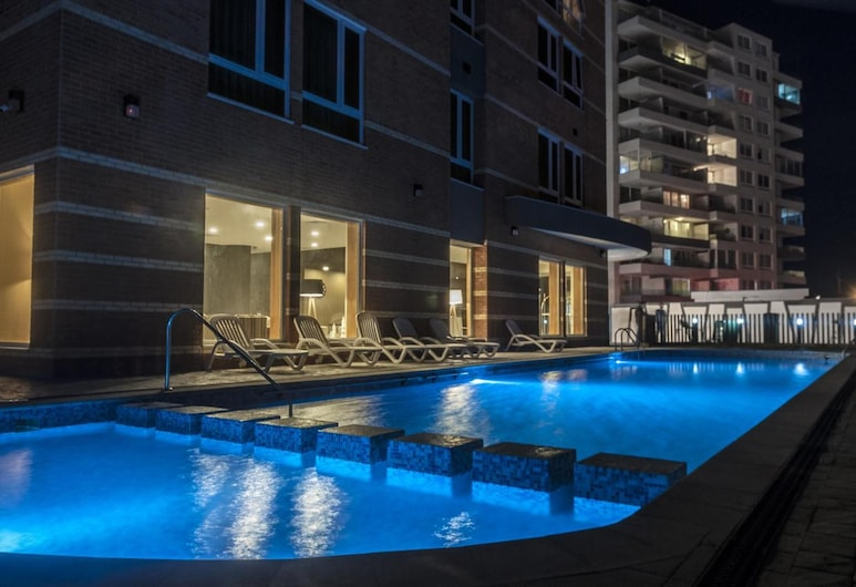 Hotel Diego de Almagro La Serena, לה סרנה, בריכה חיצונית
