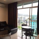Two Bedroom With Kitchenette Apartment - Living Area