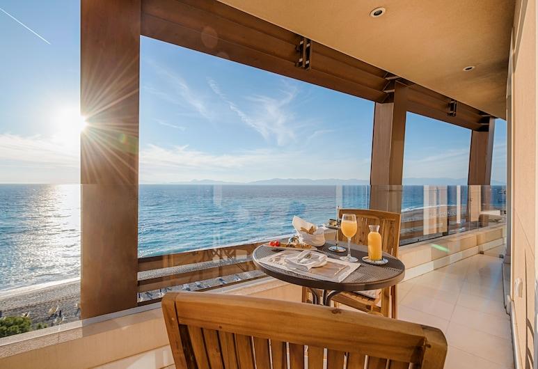 Bellevue Suites, Родос, Люкс, 1 спальня, Балкон