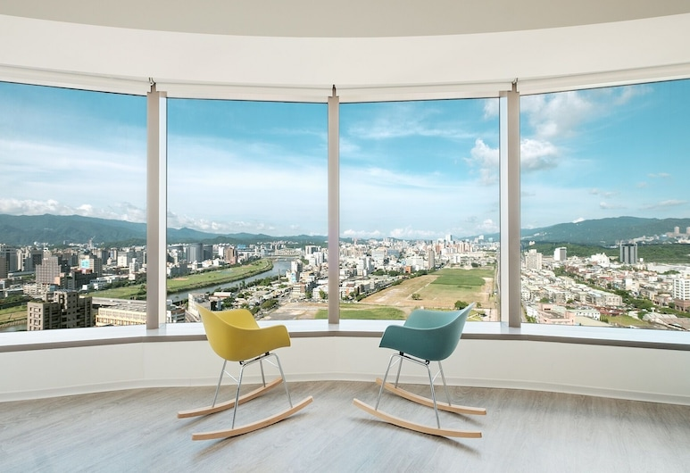 amba Taipei SongShan, Taipei, Twin kamer (Loft Twin River View Room ), Kamer