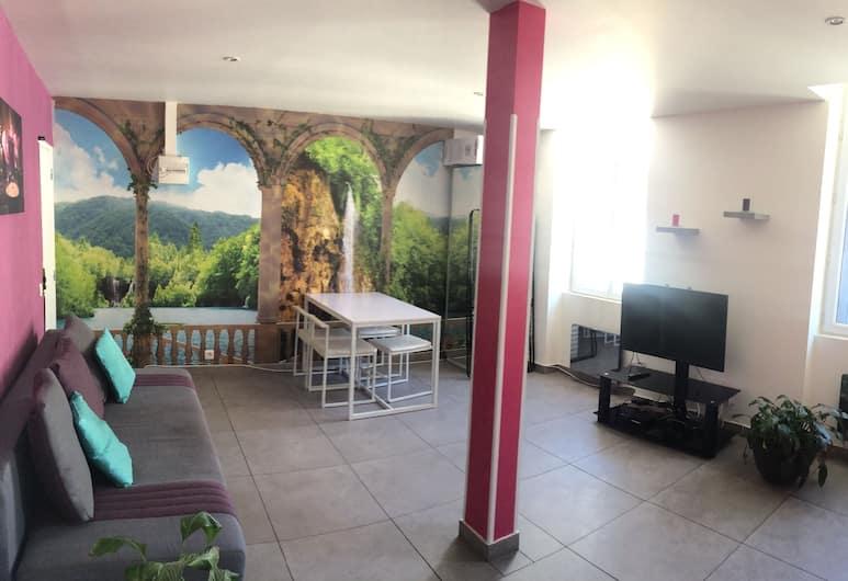 Appartements Design Marseille - 36 Orange, Marseille, Duplex, 1 Bedroom, Ruang Tamu