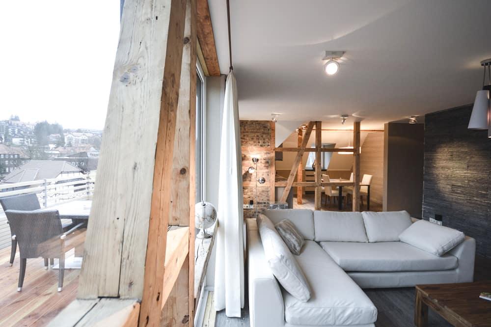 Superior Apartment with Sauna - 14 - ห้องนั่งเล่น
