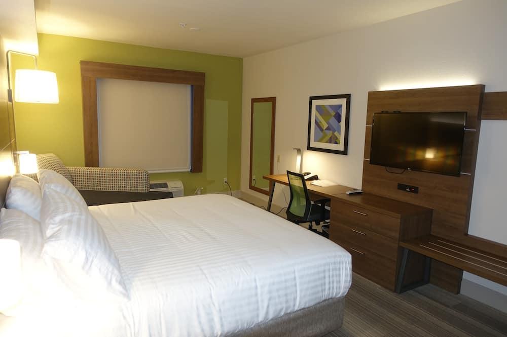 Standard szoba, 1 king (extra méretű) franciaágy, mozgássérültek számára is hozzáférhető (Mobil Tub) - Vendégszoba