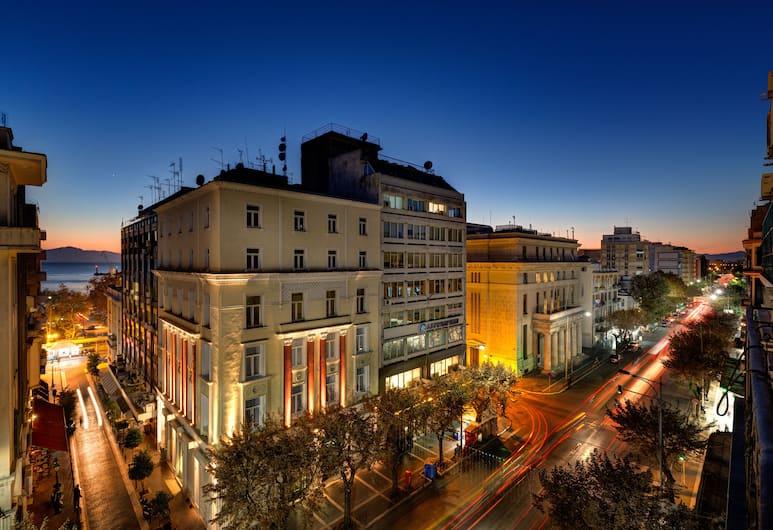 Colors Urban Hotel Thessaloniki, Selanik, Tek Büyük Yataklı Oda, Şehir Manzaralı (Large), Balkon Manzarası