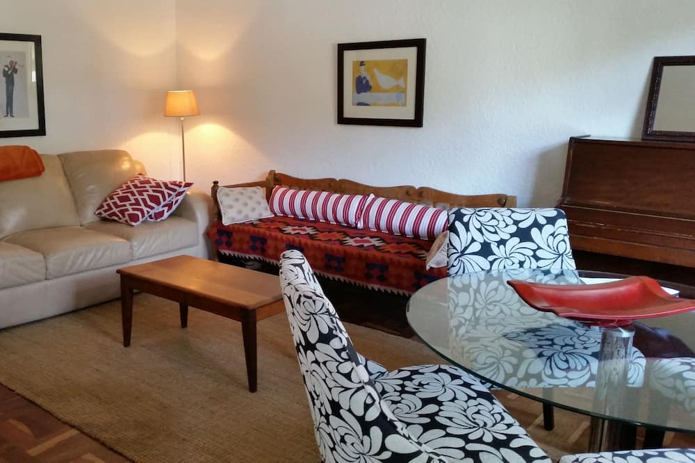 Self catering flat - Living Area