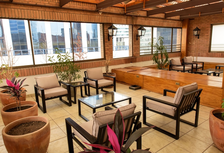 El Bosque Suites, Santiago, Terrasse/veranda