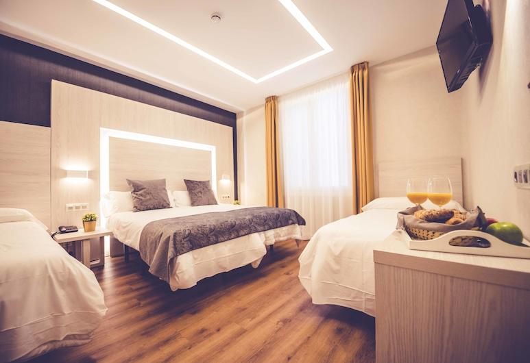 Hostal Lisboa, Madrid, Comfort-Vierbettzimmer, 1 Schlafzimmer, Zimmer