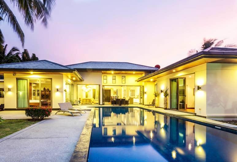 프라이빗 풀 빌라 푸켓 - 만달라 아르날리아, Choeng Thale, Luxury 4 Bedrooms Private Pool Villa, Garden View, 수영장