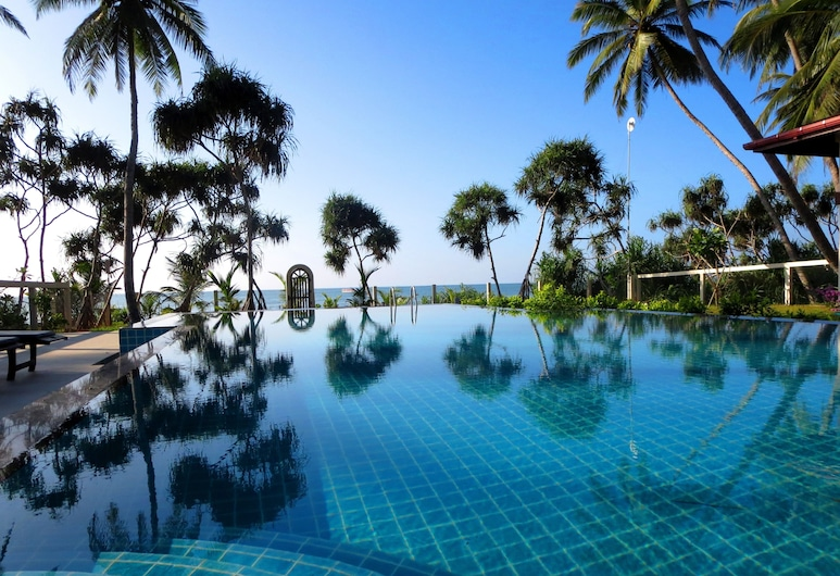 蘭卡海灘平房飯店, 唐加勒, 無邊際泳池