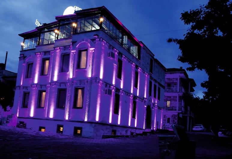 Sun Rise View Hotel, Nevsehir, Hotelfassade am Abend/bei Nacht