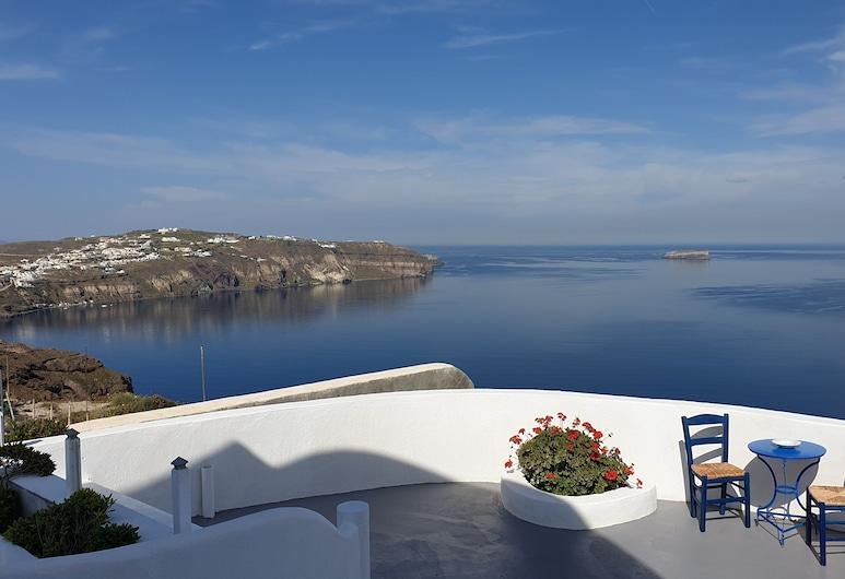 Caldera View Private Villa, Santorini, Terrace/Patio