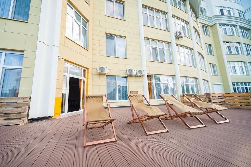Paaugstināta komforta numurs - Skats no balkona