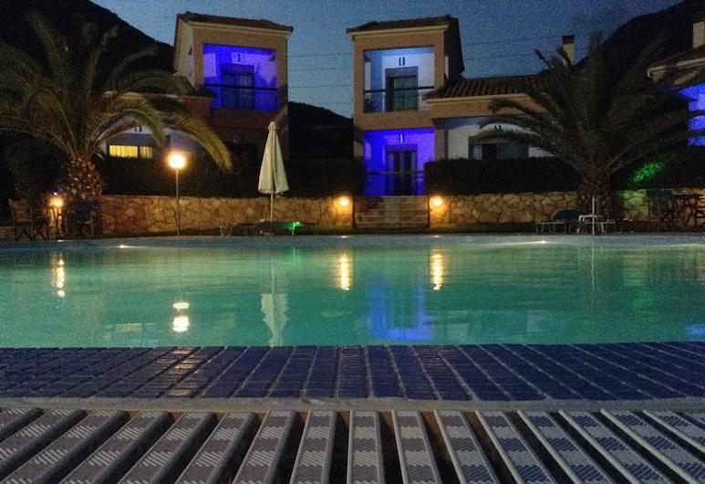 Green & Blue Hotel, Dorida, Fachada
