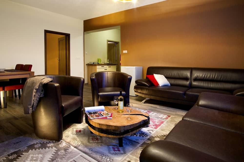 Lägenhet - 2 sovrum (B) - Vardagsrum