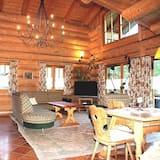 Superior faház, 3 hálószobával, nemdohányzó, pezsgőfürdő - Nappali