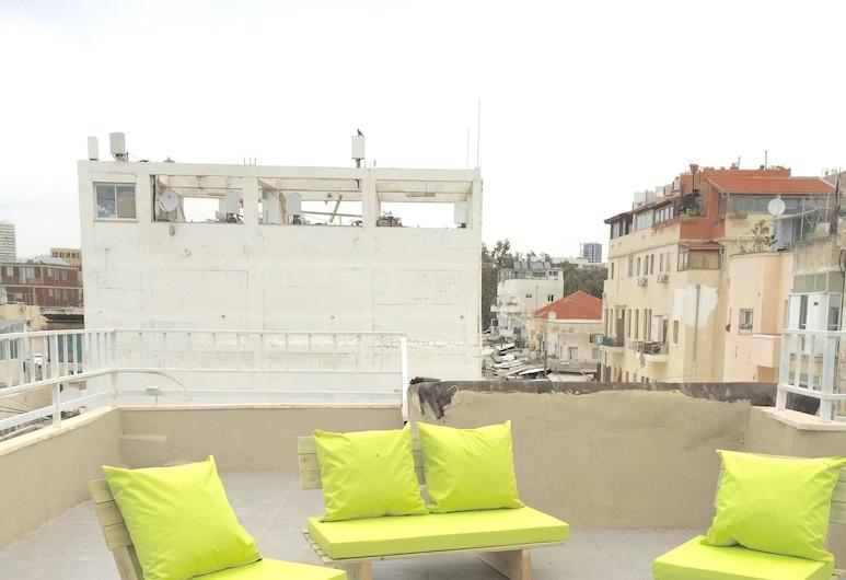 Ha-Carmel Market Apartment, Tel Aviv, City Penthouse (Unit 12), Teres/Laman Dalam
