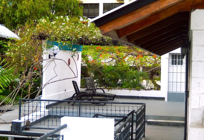 阿瓜斯恩特雷 2 號青年旅舍, 巴拿馬市, 露台