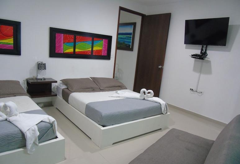 Apartahotel Bahia Tropical, San Andres, Family Apartment, 2 Bedrooms, Room