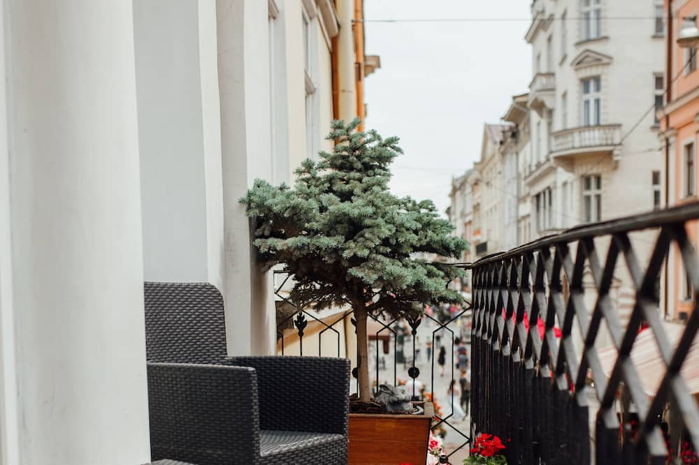 Apartment, 1 Bedroom, Balcony, City View - Balcony View