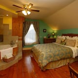 Room, 1 Queen Bed, Jetted Tub - Bathroom