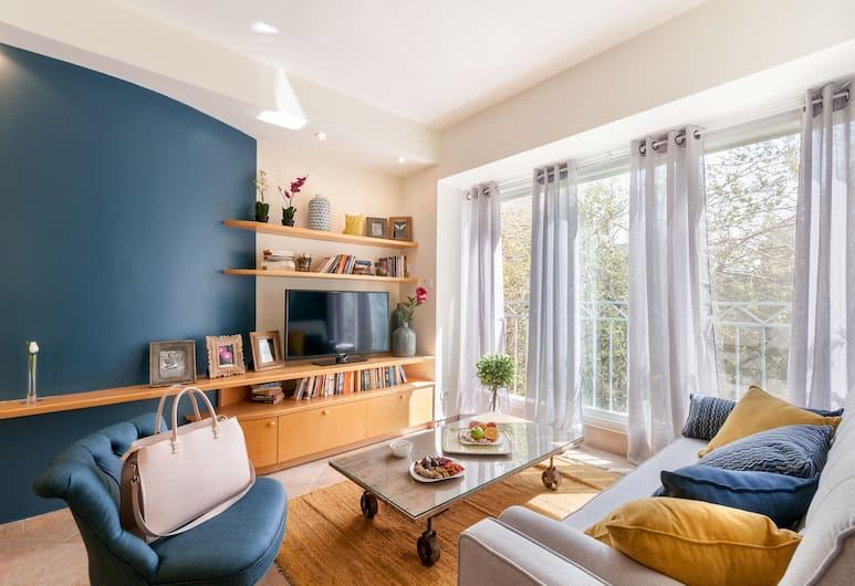 Sweet Inn Apartments - Washington Street, Jerusalem, Apartment, 1 Bedroom, Living Area