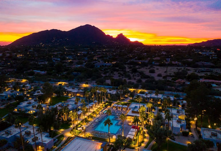 Andaz Scottsdale Resort & Bungalows - a concept by Hyatt, Scottsdale, Aerial View