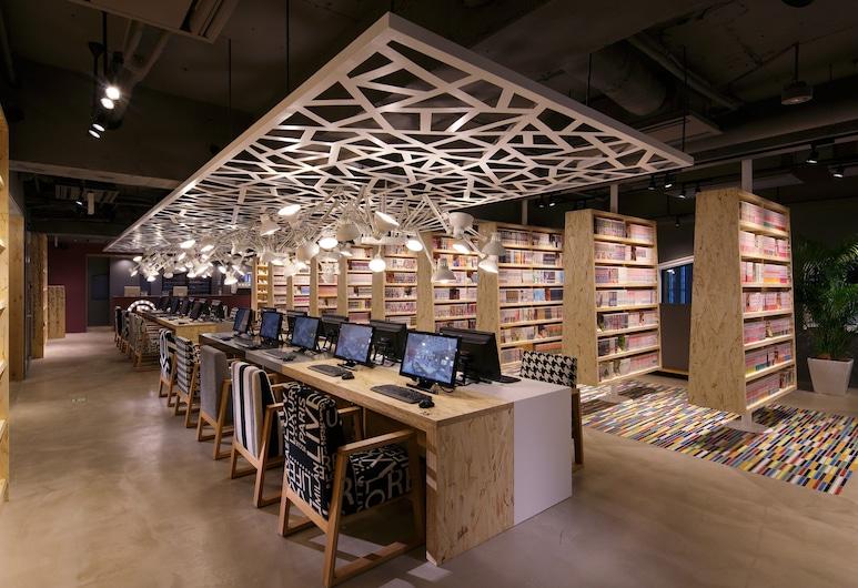 Booth Net Cafe & Capsule, Tokio, Lobby