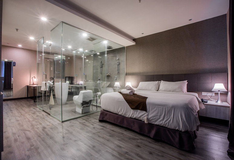 The Leverage Business Hotel Skudai, Johor Bahru, Apartmán, Hosťovská izba